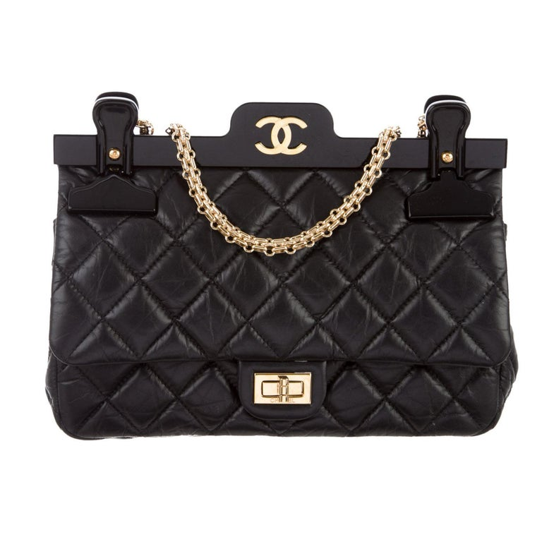 5fdcfc814dc1 Chanel 2.55 Reissue Classic Flap Rare Hanger Large Limited Editiion For Sale