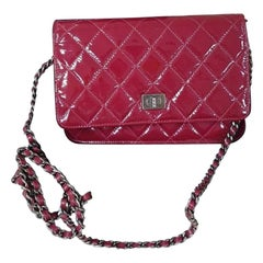 Chanel 2.55 Reissue WOC Red Rouge Patent Leather Bag