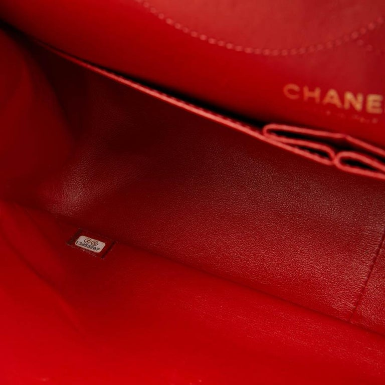 CHANEL 2.55 Smooth Copper Lambskin Bag For Sale 5