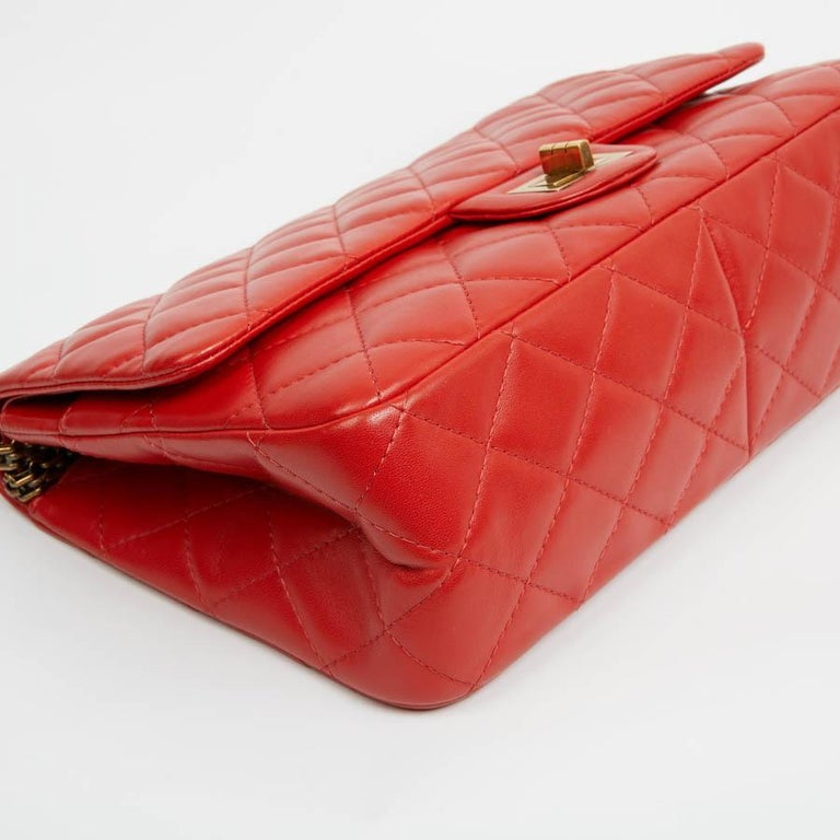 Women's CHANEL 2.55 Smooth Copper Lambskin Bag For Sale