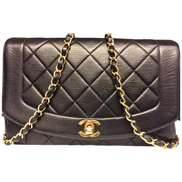 Chanel 25cm Diana Shoulder Bag  For Sale