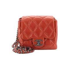 Chanel 3 Accordion Flap Bag Quilted Lambskin Mini