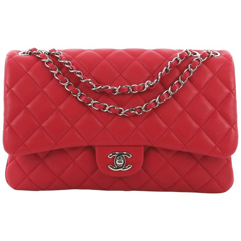 3ed58c8b1023 Chanel 3 Bag Quilted Lambskin Jumbo at 1stdibs