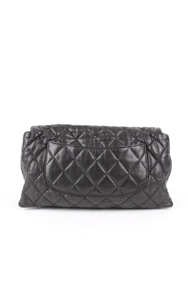 Chanel 3 Quilted Accordion Lambskin Maxi Flap Bag For Sale 1