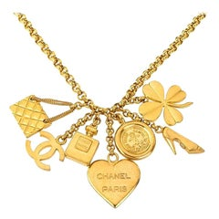 Chanel 7 Lucky Charm Necklace