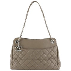 Chanel 7 Tote Quilted Lambskin Large