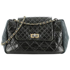 Chanel Accordion Reissue Flap Bag Quilted Calfskin Maxi