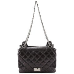 Chanel Accordion Reissue Flap Bag Quilted Calfskin Small