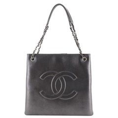 Chanel Accordion Timeless Tote Iridescent Calfskin Large