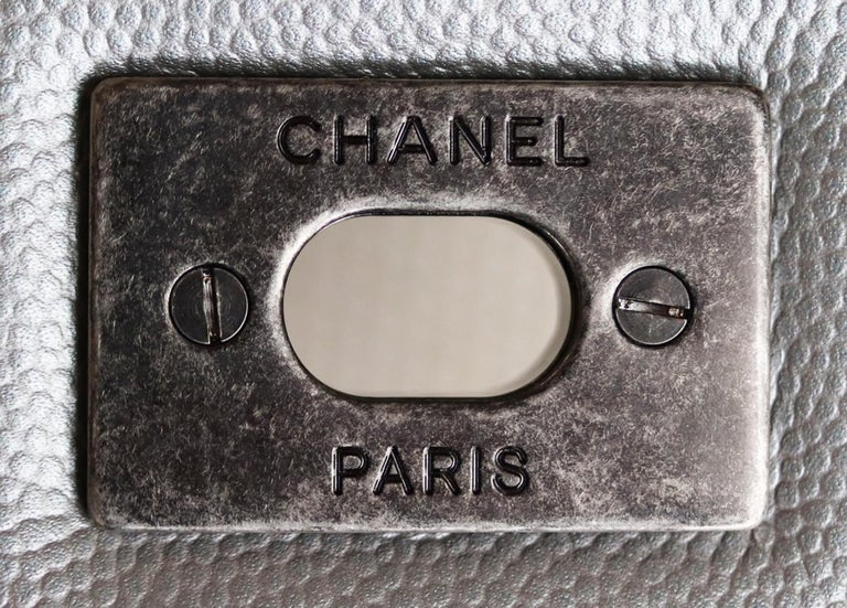 Chanel Airline Large XXL Classic Flap Bag For Sale 5