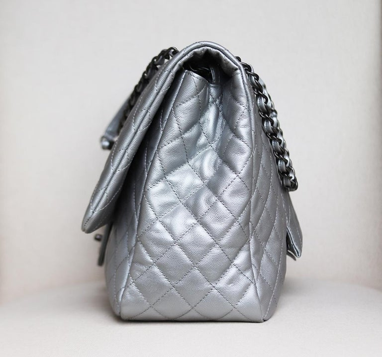 Chanel Airline Large XXL Classic Flap Bag In New Condition For Sale In London, GB