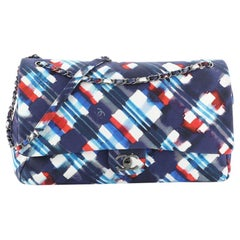 Chanel Airlines CC Flap Bag Printed Canvas XXL