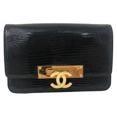 Chanel Alligator Clutch/ Crossbody Bag