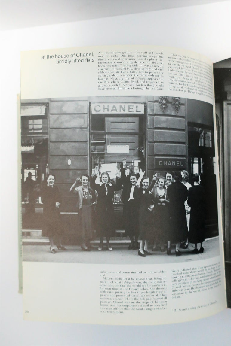 Chanel and Her World, Library or Coffee Table Book, ca 1979 For Sale 12