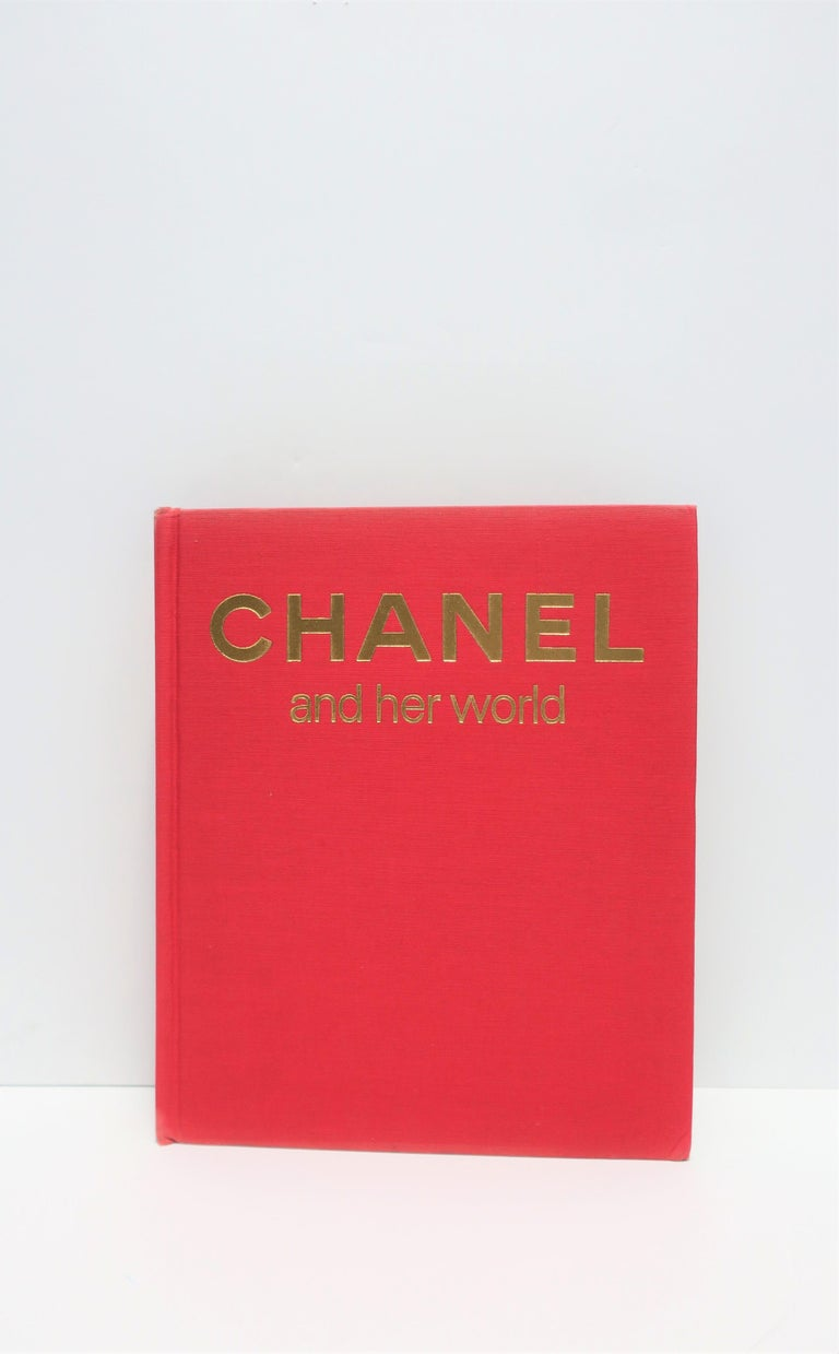 Chanel and her world, by Edmonde Charles-Roux, circa 1979. This is an amazing first addition, hardcover library or coffee table book about the life and career of early 20th century icon, Gabrielle