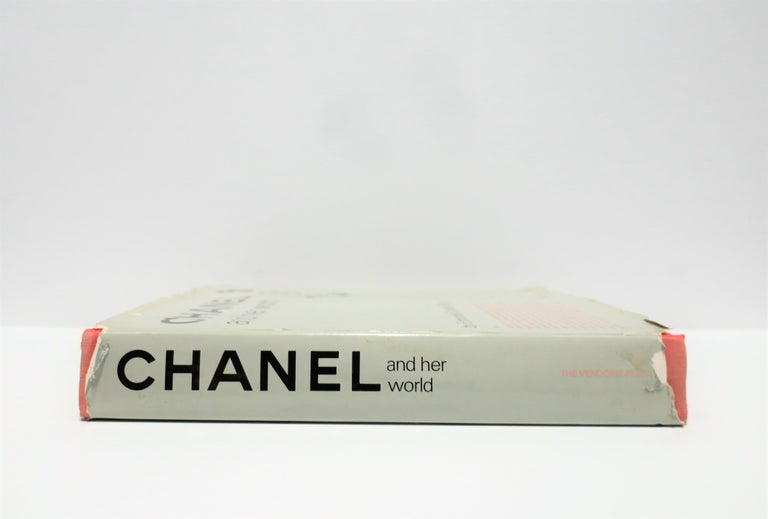 Chanel and Her World, Library or Coffee Table Book, ca 1979 In Good Condition For Sale In New York, NY