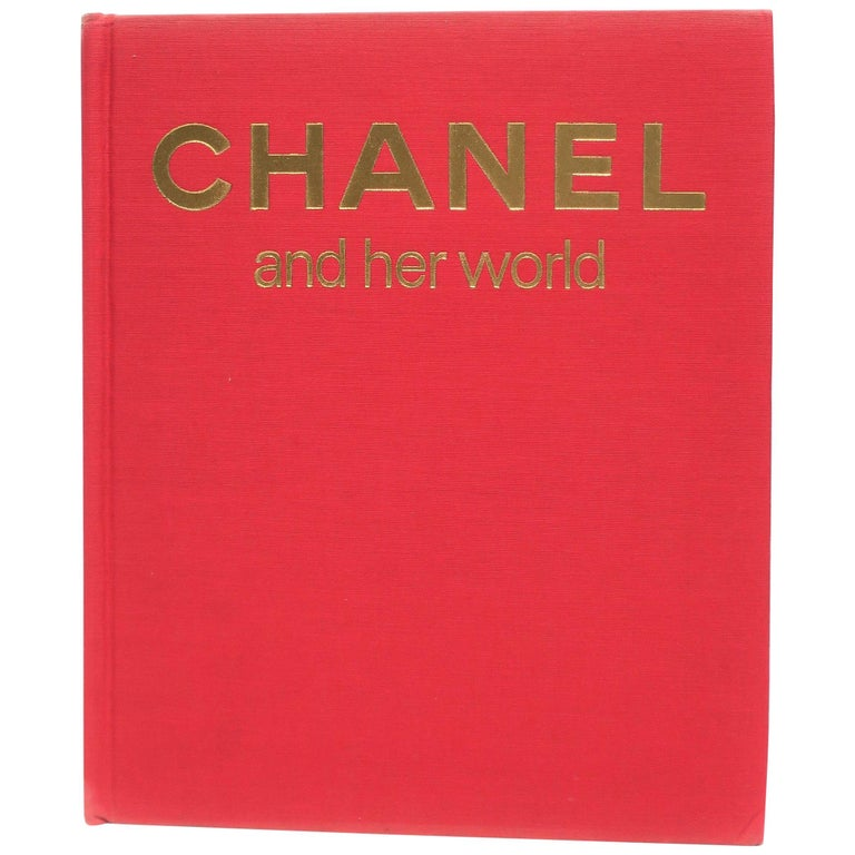 Chanel and Her World, Library or Coffee Table Book, ca 1979 For Sale