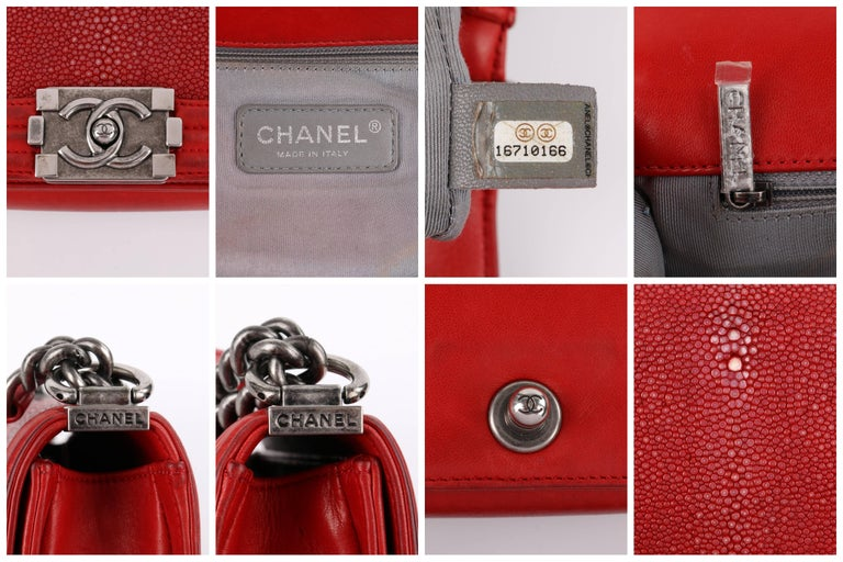 CHANEL A/W 2012 Red
