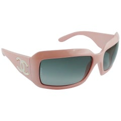 Chanel Baby Pink CC Mother of Pearl Sunglasses Mod. 5076-H