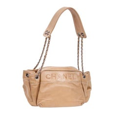 CHANEL Bag in Beige Lamb Leather