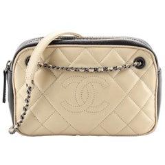 Chanel Ballerine Camera Case Bag Quilted Calfskin Medium