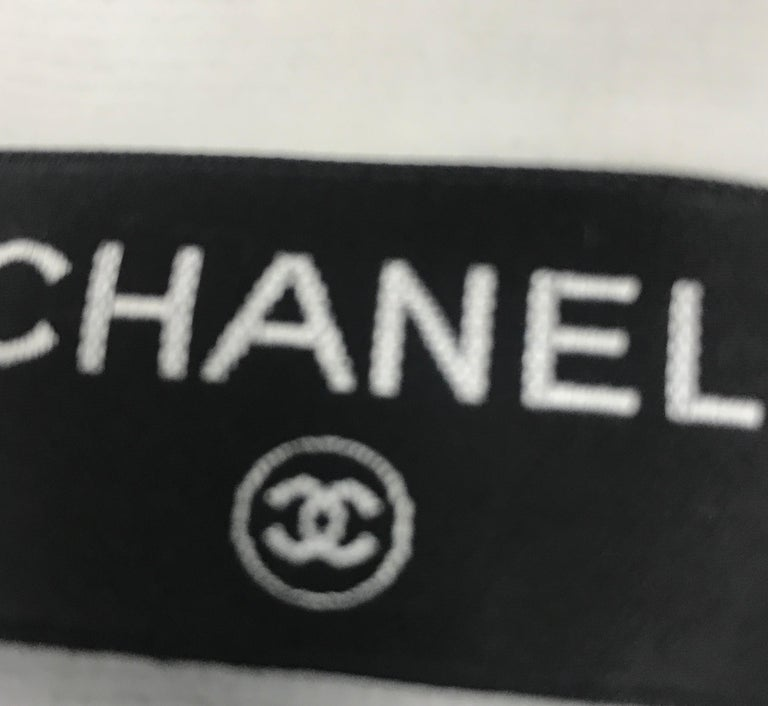 Chanel Beach Resin Chain Hobo Terry Cloth Large For Sale 2