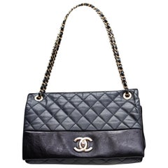 Chanel beautiful smooth and quilted leather bag, 2012/2013