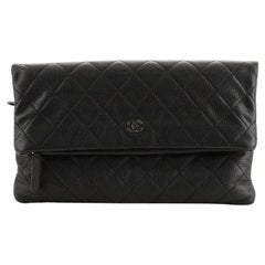 Chanel Beauty CC Clutch Quilted Caviar