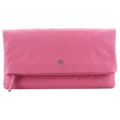 Chanel Beauty CC Clutch Quilted Lambskin