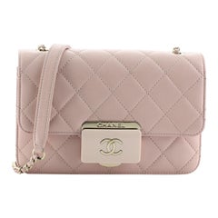Chanel Beauty Lock Flap Bag Quilted Sheepskin Mini