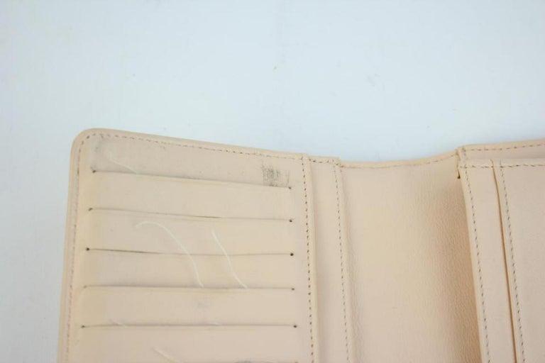 55b04c6d6cf1 Chanel Beige Clutch Cc Bicolor 214838 Wallet For Sale at 1stdibs