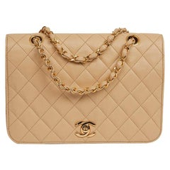 CHANEL Beige Handbag