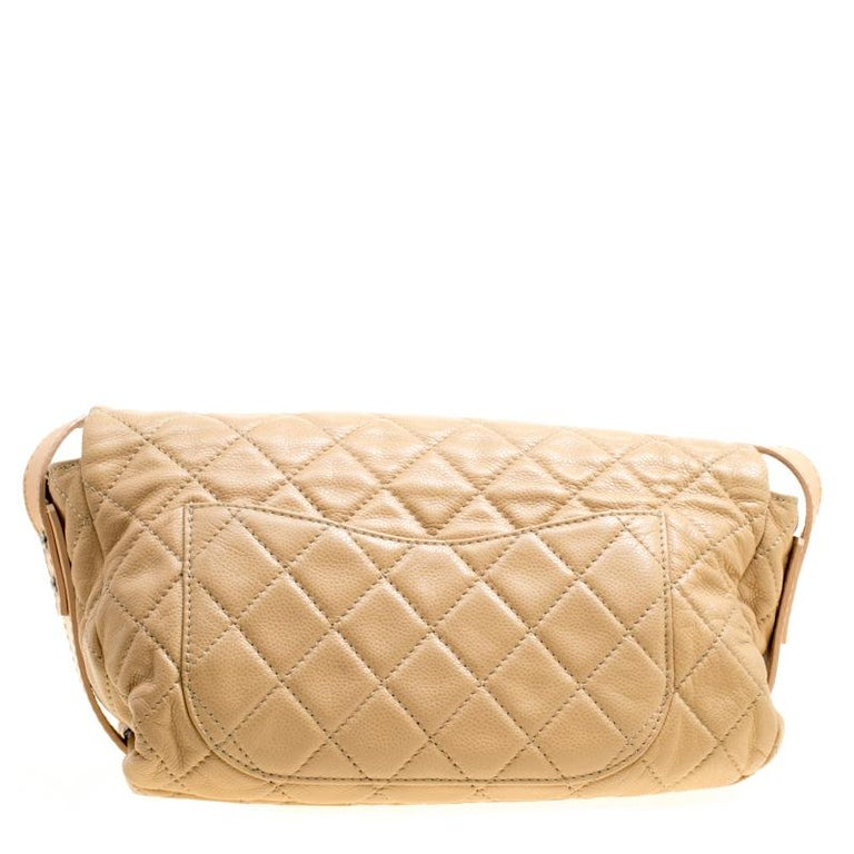 b5d36c1591427d Radiate with classic style when you swing this crossbody bag from Chanel.  Beautifully crafted from