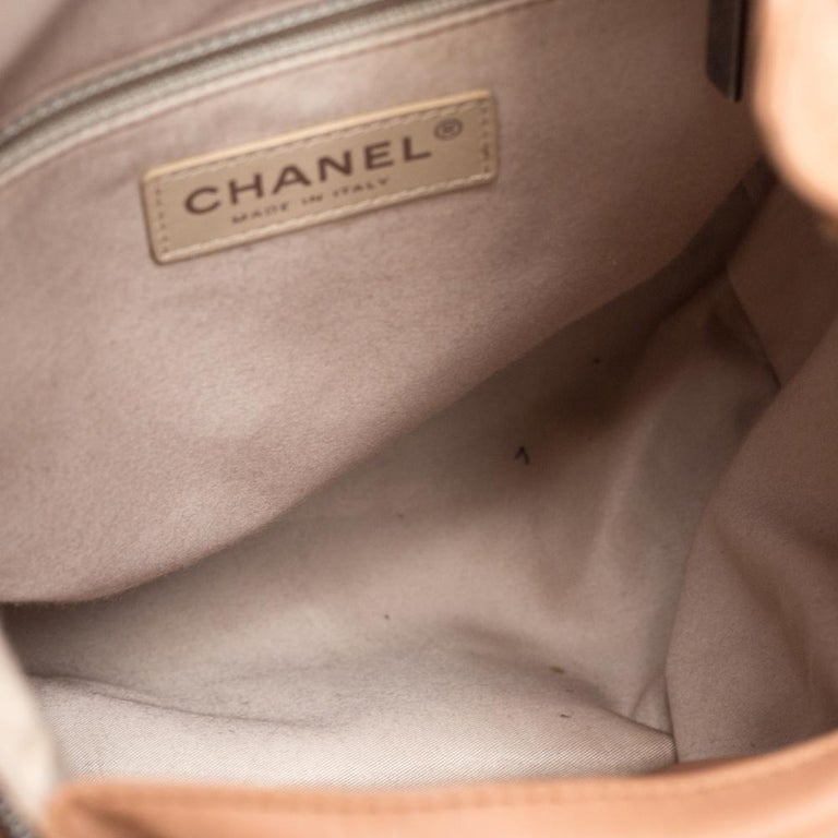 Chanel Beige Quilted Leather Small Backpack Is Back Backpack For Sale 4
