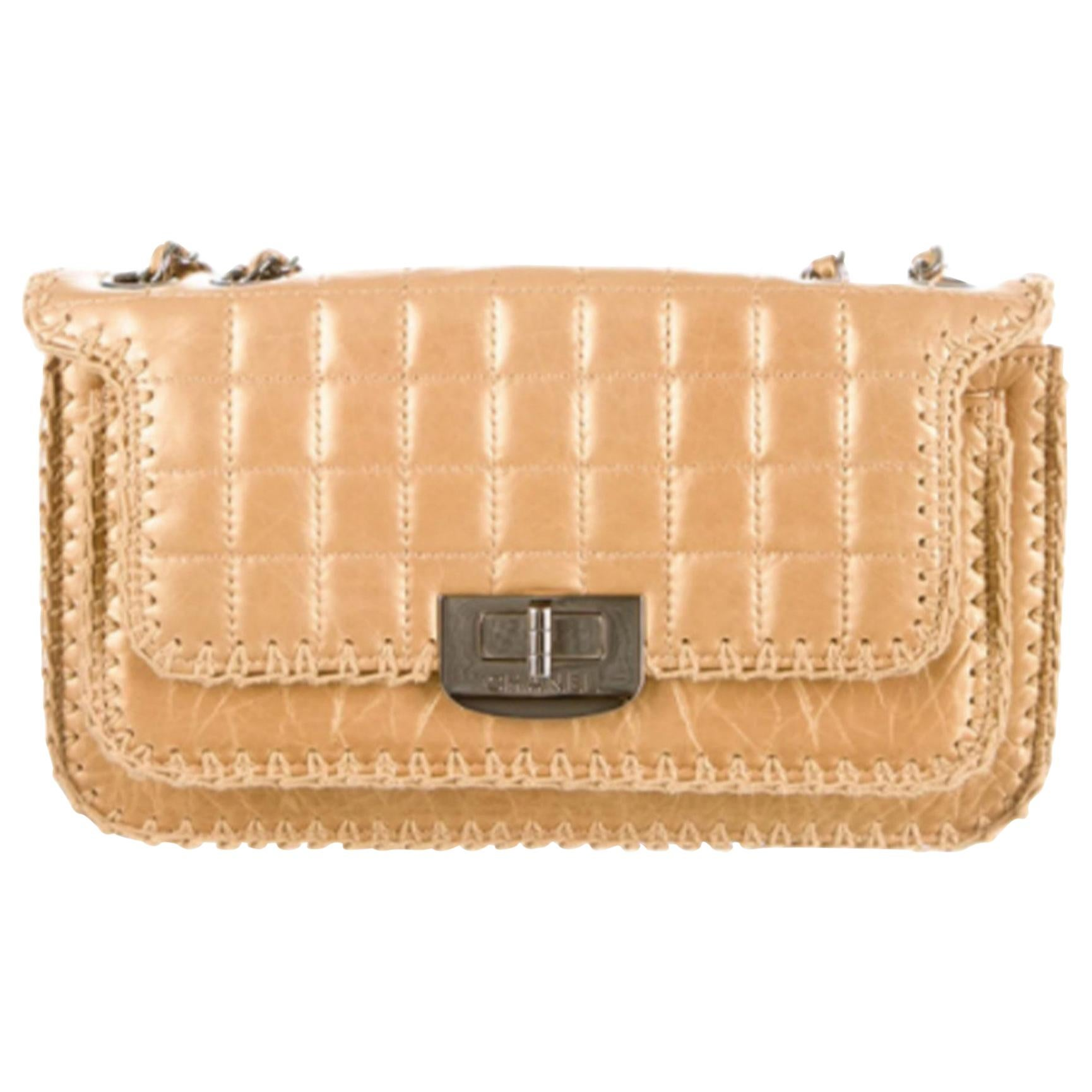 Chanel Small Gold Reissue Classic Small Medium Flap Bag