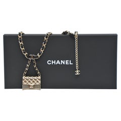 CHANEL Belt With Mini Chanel Purse  SZ 75  NEW With Tags