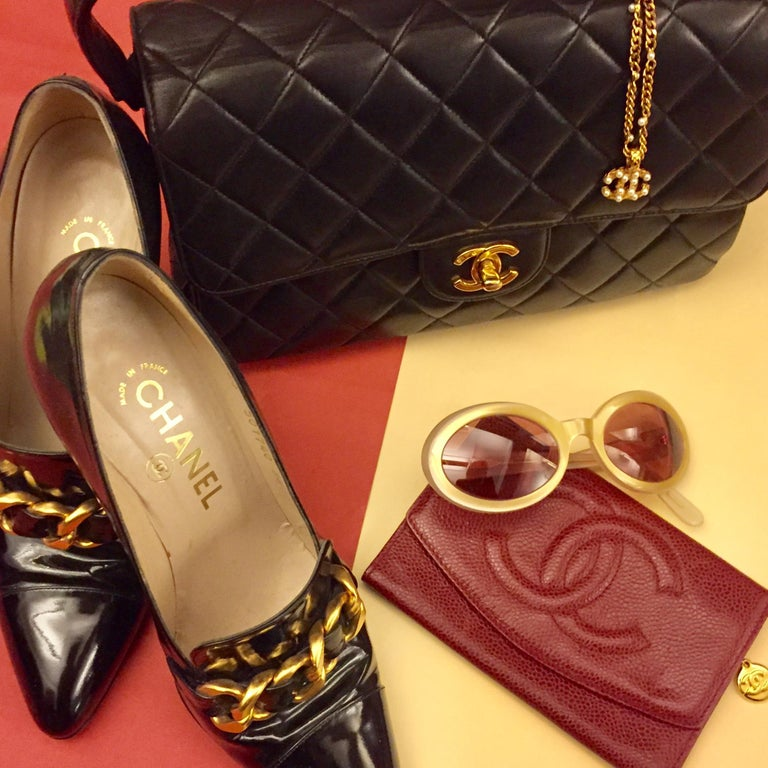 Chanel Wool Pumps In New Condition For Sale In Sheung Wan, HK