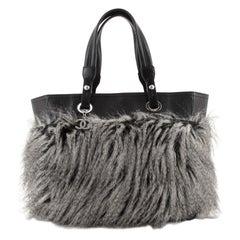 Chanel Biarritz Tote Faux Fur Medium