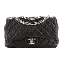 Chanel Bijoux Chain Flap Bag Quilted Lambskin Jumbo