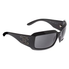 Chanel Black 60022-Q Rectangle Sunglasses