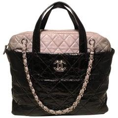 Chanel Black and Grey Portobello Tote