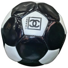 Chanel Black And White Soccer Ball