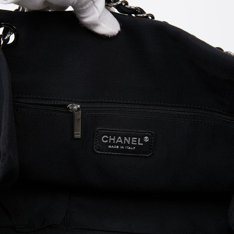 Chanel Black and White Two-Tone bag For Sale 7