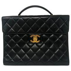 Chanel Black Briefcase