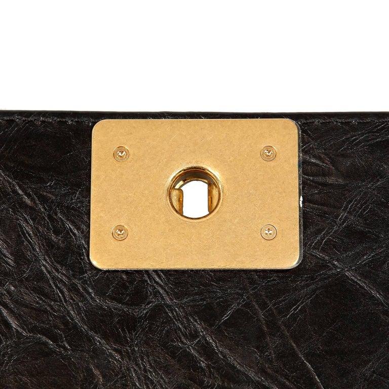 Chanel Black Calfskin Braided Jacket Large Boy Bag For Sale 9