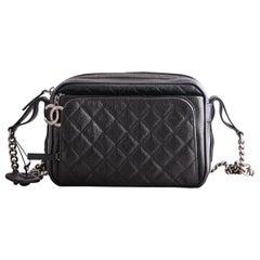 Chanel Black Caviar Affinity Camera Bag