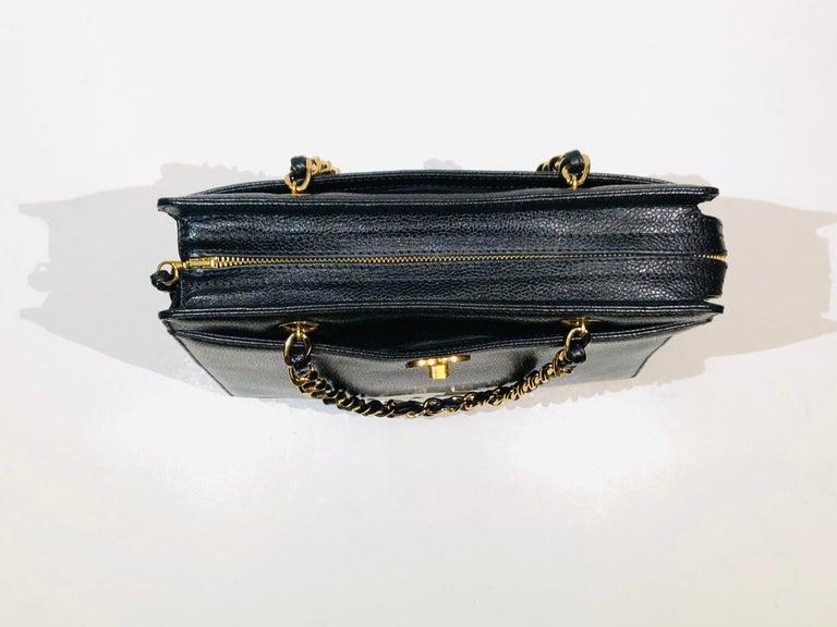 Chanel Black Caviar