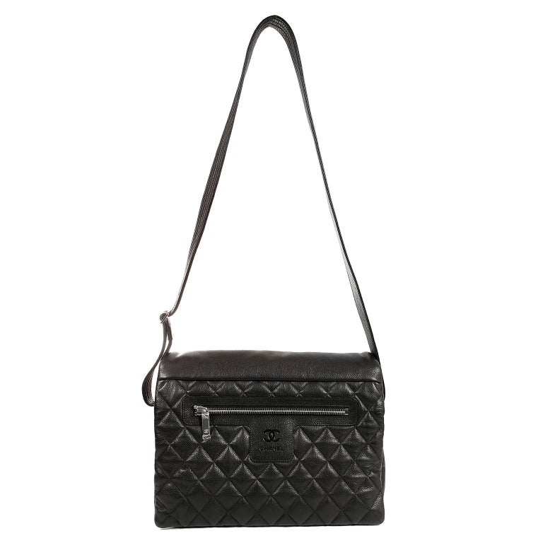 ef84e854dcc2bb Chanel Black Caviar Large Coco Cocoon Messenger Bag For Sale at 1stdibs