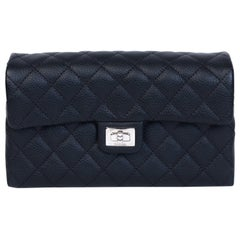 Chanel Black Caviar Leather Employee Reissue Fanny Pack Belt Bag