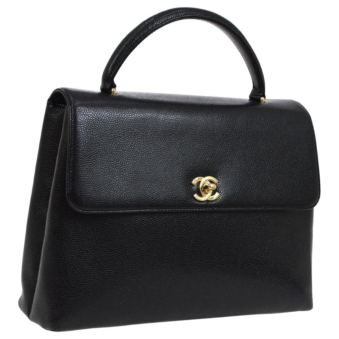 e203a5b20b3088 Black Top Handle Bags - 2,352 For Sale at 1stdibs